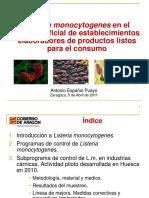 Muestreo Listeria