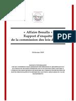 Rapport Benalla