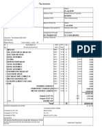 Tally Bill Format
