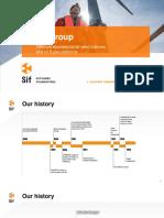 SIF Corporate-presentatie 2017