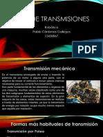 Presentación Tipos de Transmisiones y Tipos de Actuadores