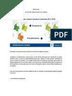 Información Efectos Del Cambio Climático