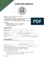 2019 scholarship application  1