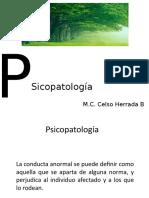 Psicopatología maestria