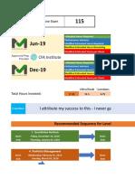 Level 1 Planner for 2019