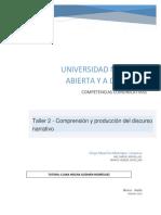 DiegoMauricioManriqueCerquera_90003_649 Taller 2 - Comprensión y Producción Del Discurso Narrativo