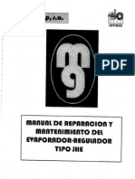 Manual de Mantencion y Reparacion Evaporizador
