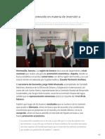 11-02-2019 - Sonora será promovido en materia de inversión a España - Tribuna.com.mx