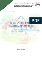 Examen Simulacro Bachillerato 2018 Bxm