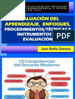 Evalución de Los Aprendizajes Enfoques Técnicas e Instrumentos 2018