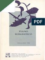 piano romantico