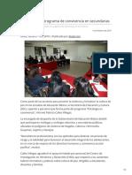 11-02-2019 - Fortalece SEC Programa de Convivencia en Secundarias - Canalsonora.com