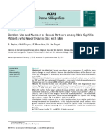 Condom Use and Number of Sexual Partners Among Ma 2010 Actas Dermo Sifiliogr