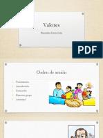 Clase muestra -  Valores.pptx
