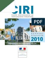 Ciri Rapport d'Activité 2010