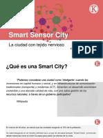 Smart Sensor City - La Ciudad Con Tejido Nervioso