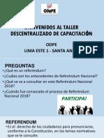 ppt BIENVENIDOS AL TALLER DESCENTRALIZADO DE CAPACITACION.pptx