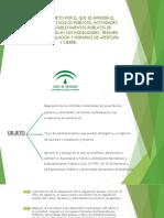Esquema Decreto Espectáculos Públicos 30-7-18 Novedades