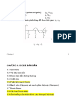 mạch điện tử Chapter 1