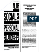 Domestic Affairs and Network Relations