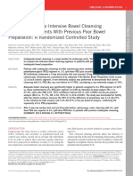 Comparison of Two Intensive Bowel Cleansing