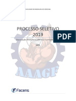 Edital Processo Seletivo AAAGF 2019