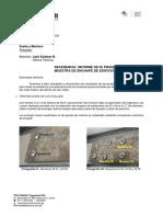 Informe de Ensayo de Prueba de Adherencia en Mármol