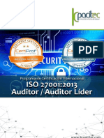 Brochure ISO 27001_2013 Auditor-Auditor Líder