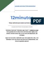 12minutos review - 12min app é bom?