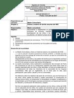 ACTA PACTO de CONVIVENCIA Por Favor Tenerla Como Ejemplo No Dejar Lo Mismo