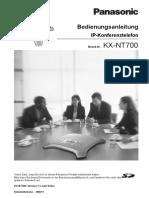 KX-NT700_Operating_Instructions-German.pdf