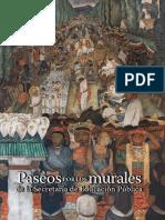 Paseos Por Los Murales de La SEP 2018