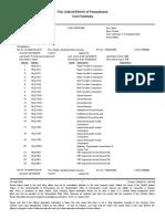 Court Summary Report