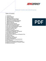 Material Control and Warehousing.docx