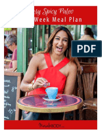 Paleo One-Week Meal Plan