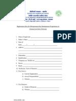 Application for e.d.p.- Dairy Farming