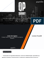 Palestra 03 - Lean Seis Sigma Evolução, Fatores Críticos e Aplicações Nas Empresas Brasileiras