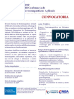 Convocatoria Cnea 2019 Esp