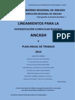 Lineamientos para la Diversificación Curricular Regional - Ancash.docx