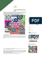 16 Patrones de Disea Os Wayuu Para Mochilas Croche