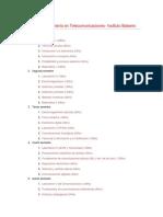 Plan de Estudio Ingenieria en Telecomunicaciones UNRN
