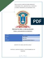 Informe de Escalonado de Cubiertas Analisis Estructural