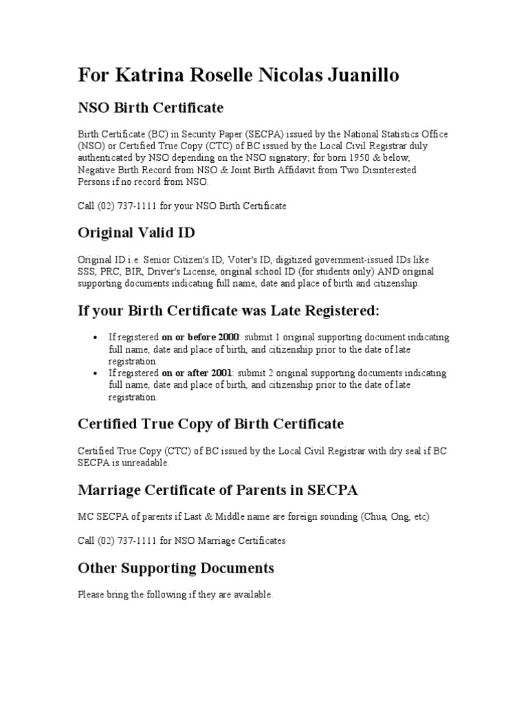 Birth certificate affidavit by parents image collections dfa requirement birth certificate official documents yadclub image collections xflitez Image collections