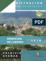 Revista Rendición de Cuentas 2018