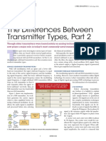 Difference between HF transmitters