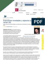 Renta 09, Exenciones novedades y aspectos que no varían (III)
