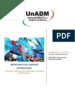 Actividad 2. Teorias Del Comercio Internacional