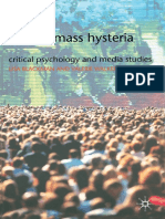 Mass Hysteria Critical Psychology and Media Studies