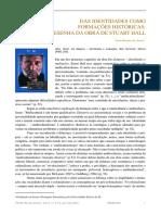 Das identidades como formações históricas - Uma resenha da obra de Stuart Hall.pdf