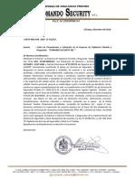 Carta de Presentacion Seguridad